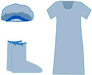 Комплект одежды для роженицы